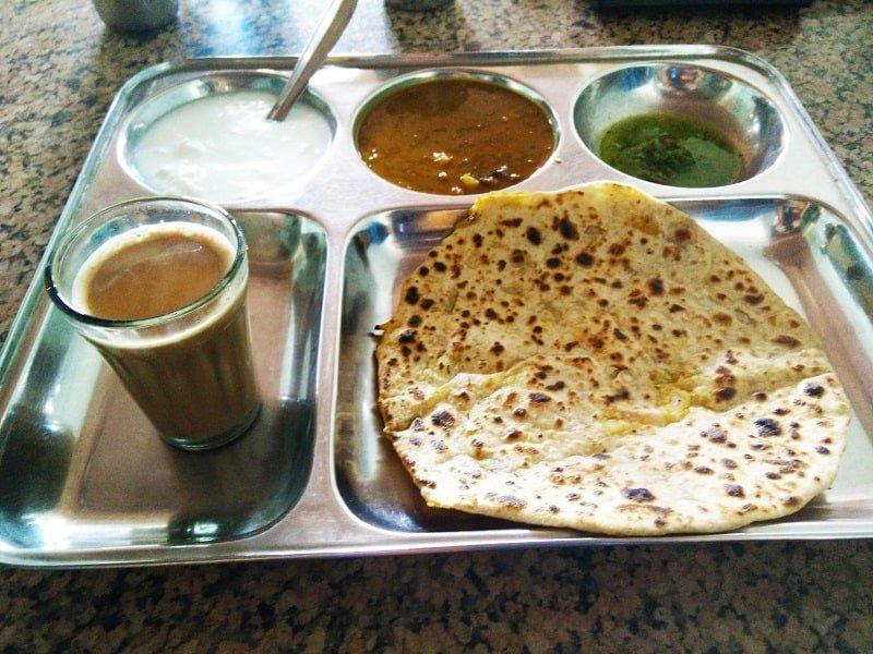 Breakfast in Rishikesh, River Rafting in Rishikesh