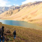 How to reach Chandratal lake Spiti valley