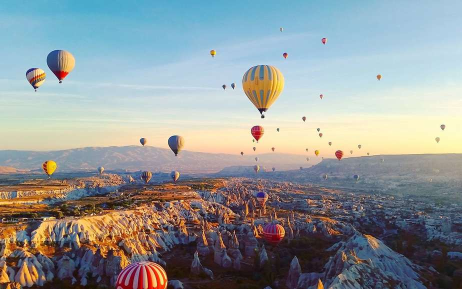 Hot Air Balloon Ride at Cappadocia