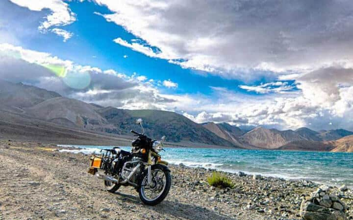 Bike rental in Leh Ladakh