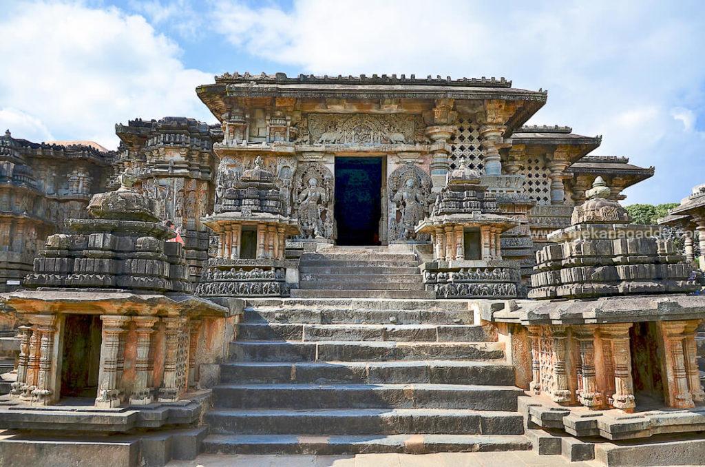 Hoysaleshwara Temple at Halebid