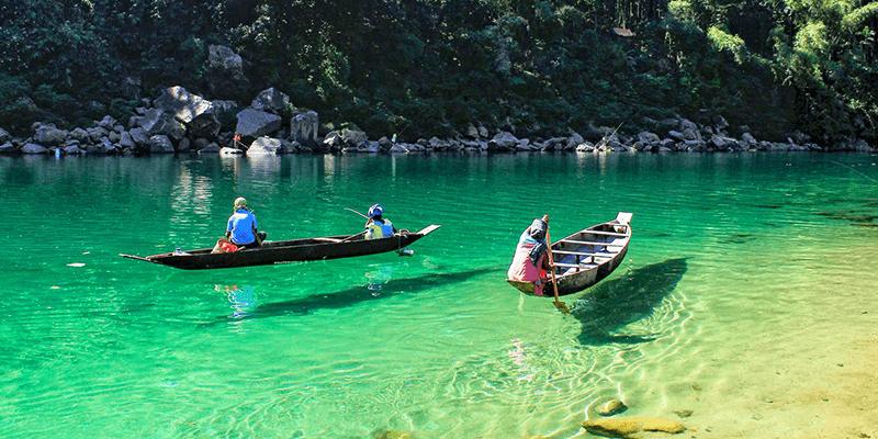 Dawki boat ride