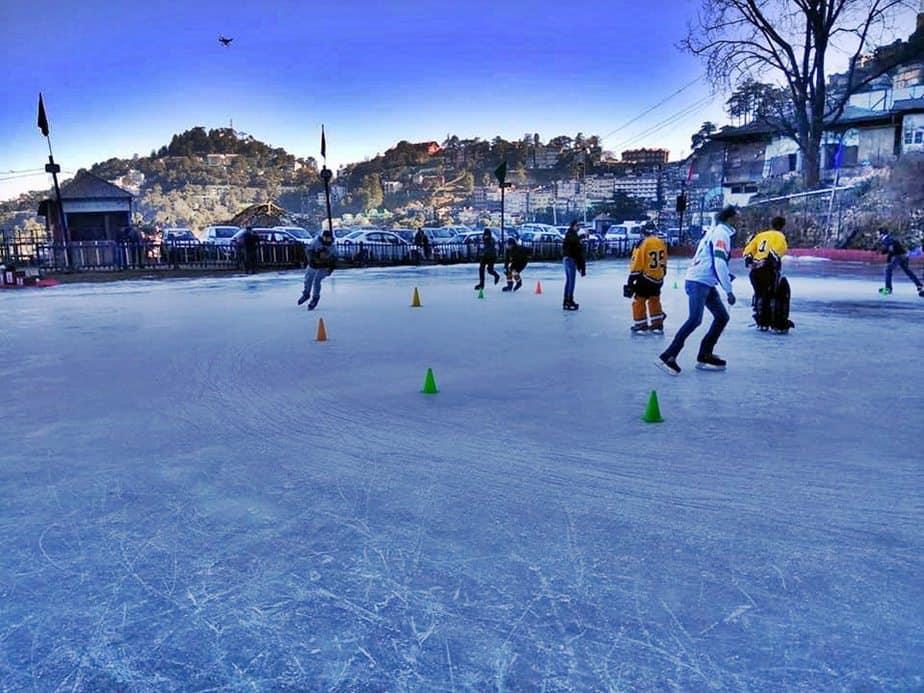Shimla Ice Skatng Rink