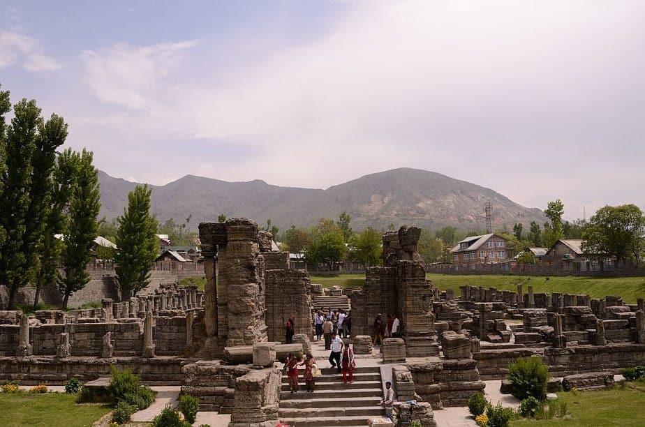 Awantipura ruins