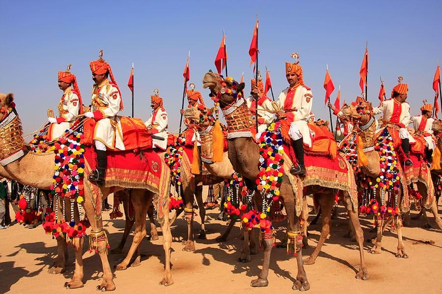 Desert festival at Jaisalmer