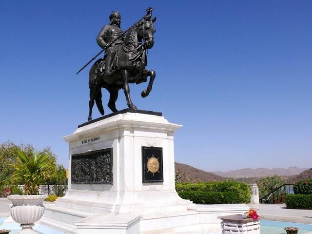 Maharana Pratap Memorial at Moti Magri